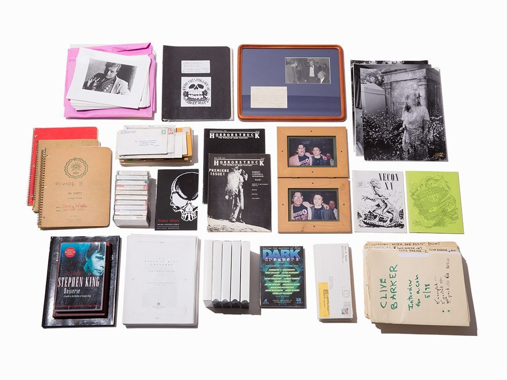 The Stanley Wiater Modern Horror Archive, 1958-2008