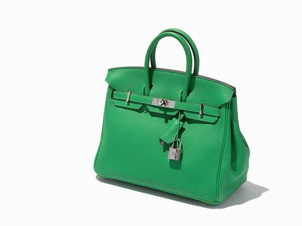 Hermès, Bamboo Green Birkin 25, c.2014