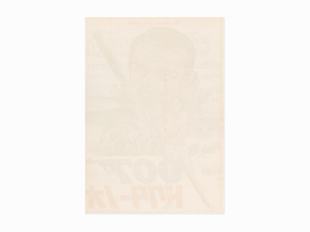 """Vintage """"Dr. No"""" Japanese Release Film Poster, c. 1972 - 2"""