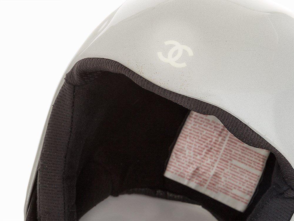 Chanel, Metallic Silver Ski Helmet, c.20th C - 2