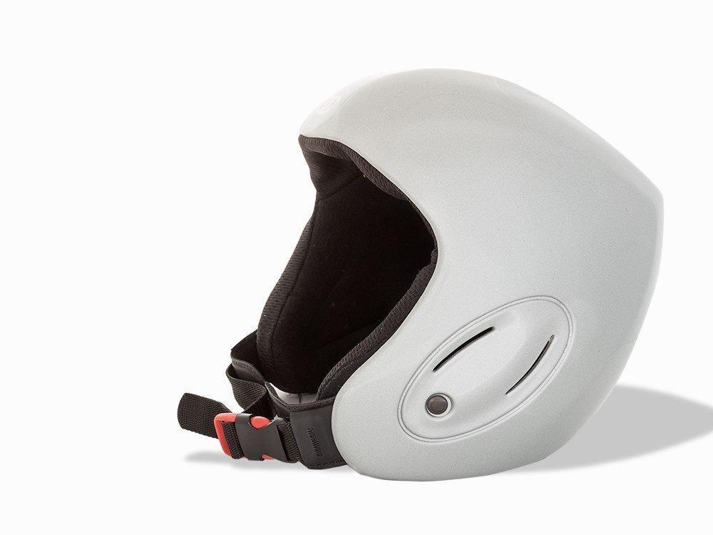 Chanel, Metallic Silver Ski Helmet, c.20th C - 3