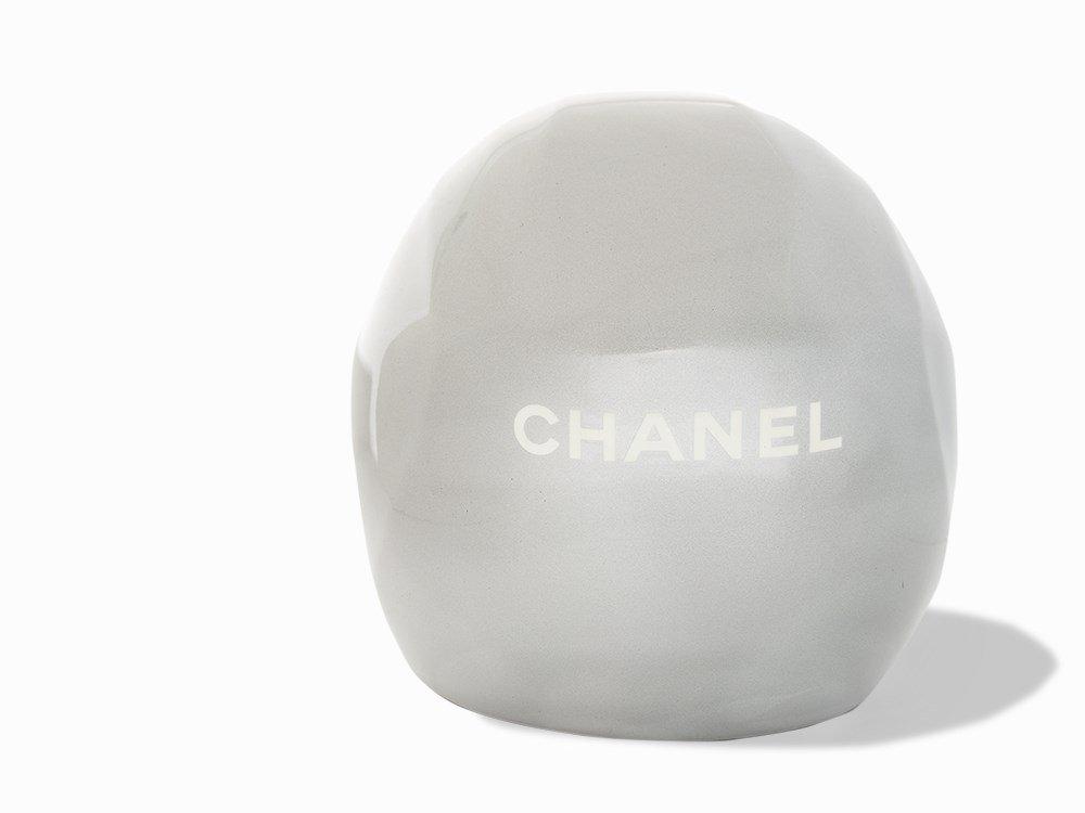Chanel, Metallic Silver Ski Helmet, c.20th C - 4