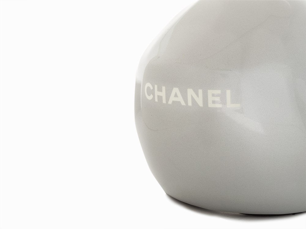 Chanel, Metallic Silver Ski Helmet, c.20th C - 5