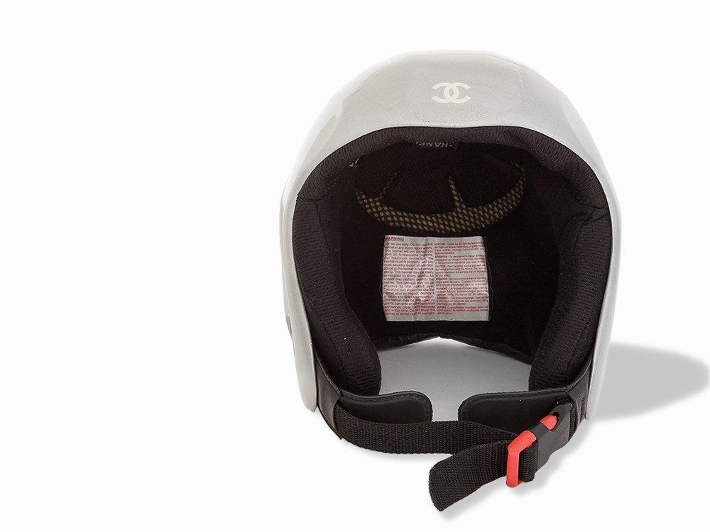 Chanel, Metallic Silver Ski Helmet, c.20th C - 7