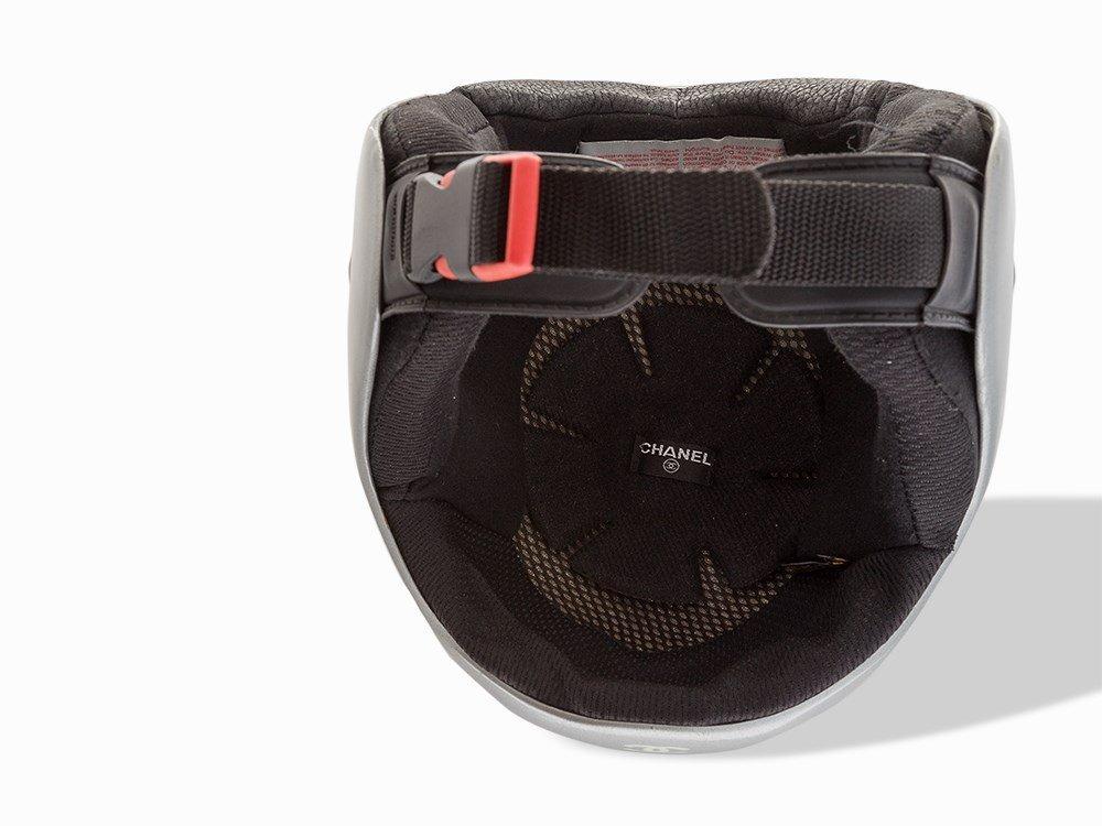 Chanel, Metallic Silver Ski Helmet, c.20th C - 8