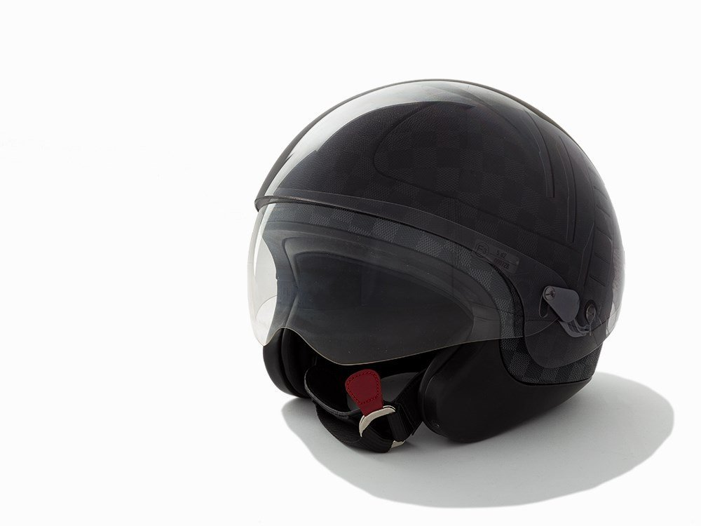 Louis Vuitton, Damier Graphite Helmet, c.2008