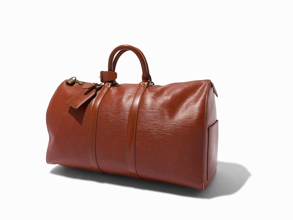 Louis Vuitton, Tan Epi Keepall 45, c. 1991