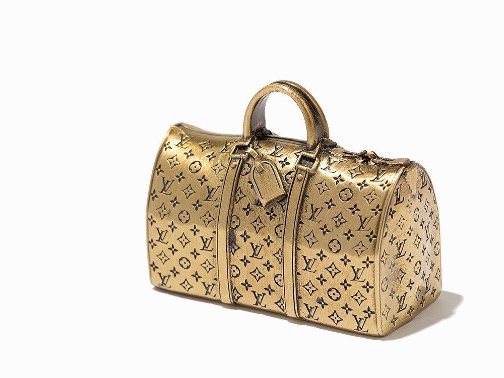 Louis Vuitton, VIP Keepall Paper Weight, 20th C.