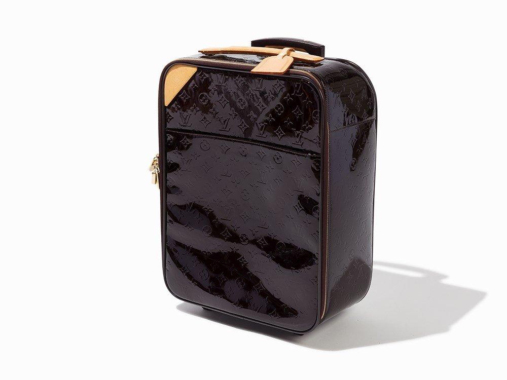 Louis Vuitton, Amarante Monogram Vernis Pegase