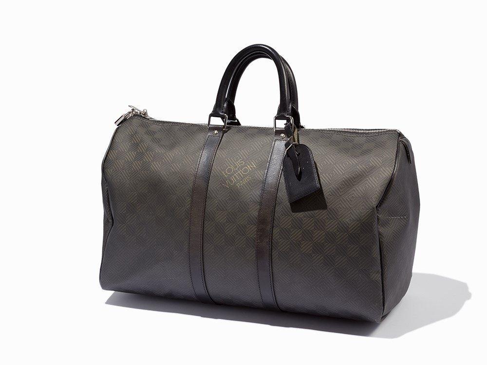 Louis Vuitton, Damier Carbone Keepall, c.2010