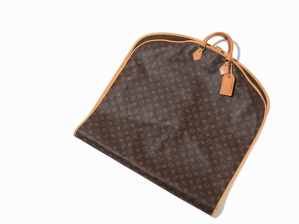Louis Vuitton, Brown Monogram Canvas Garment Cover, c.