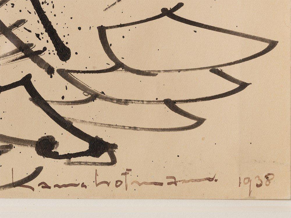 "Hans Hofmann, ""Untitled,"" Work on Paper, 1938 - 3"