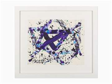 Sam Francis, �Untitled (SF75-1129),� Work on Paper,