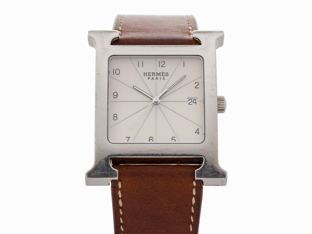 Hermès H-our, Ref. HH1.810, Switzerland, c.2004
