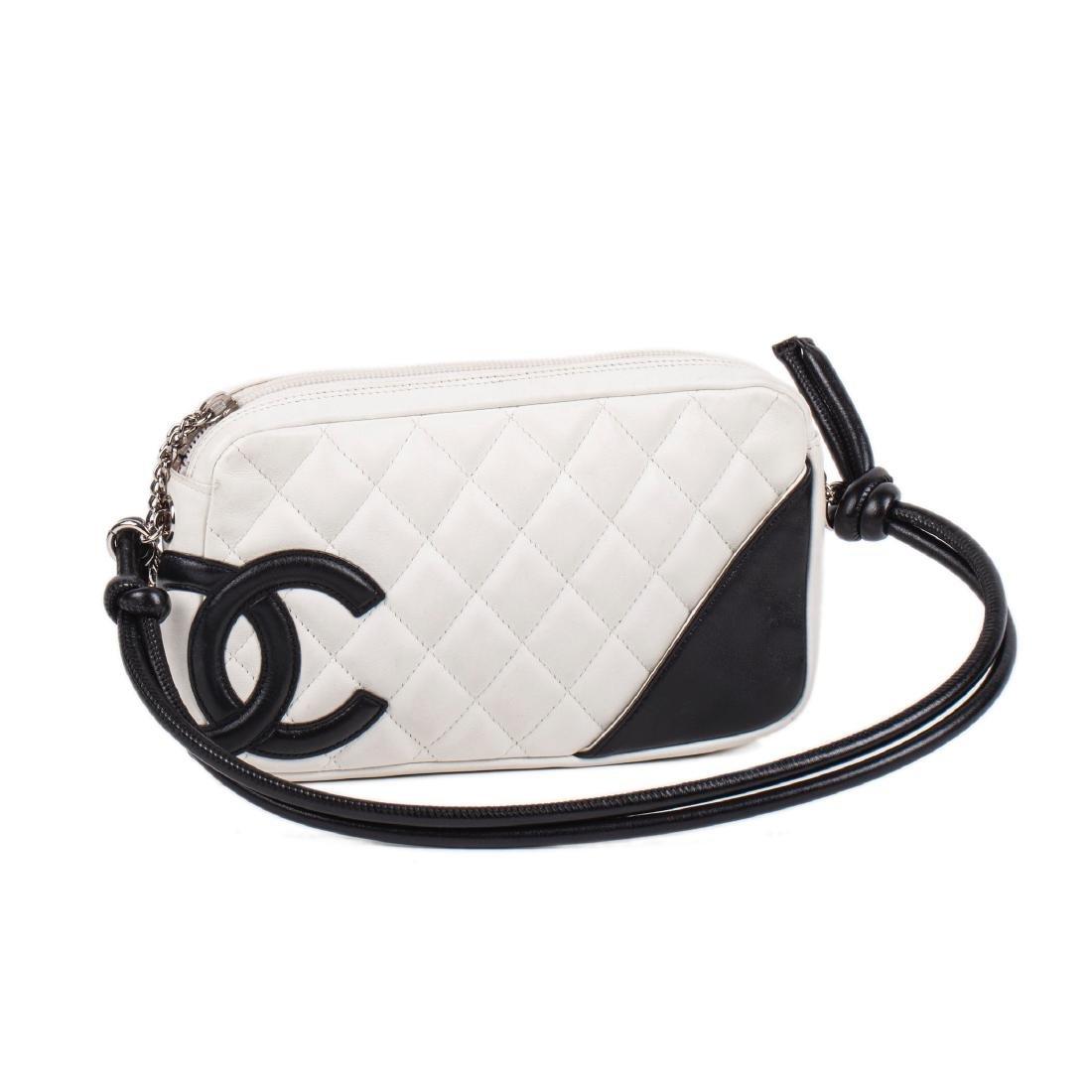Chanel Cambon ligne lambskin leather bag