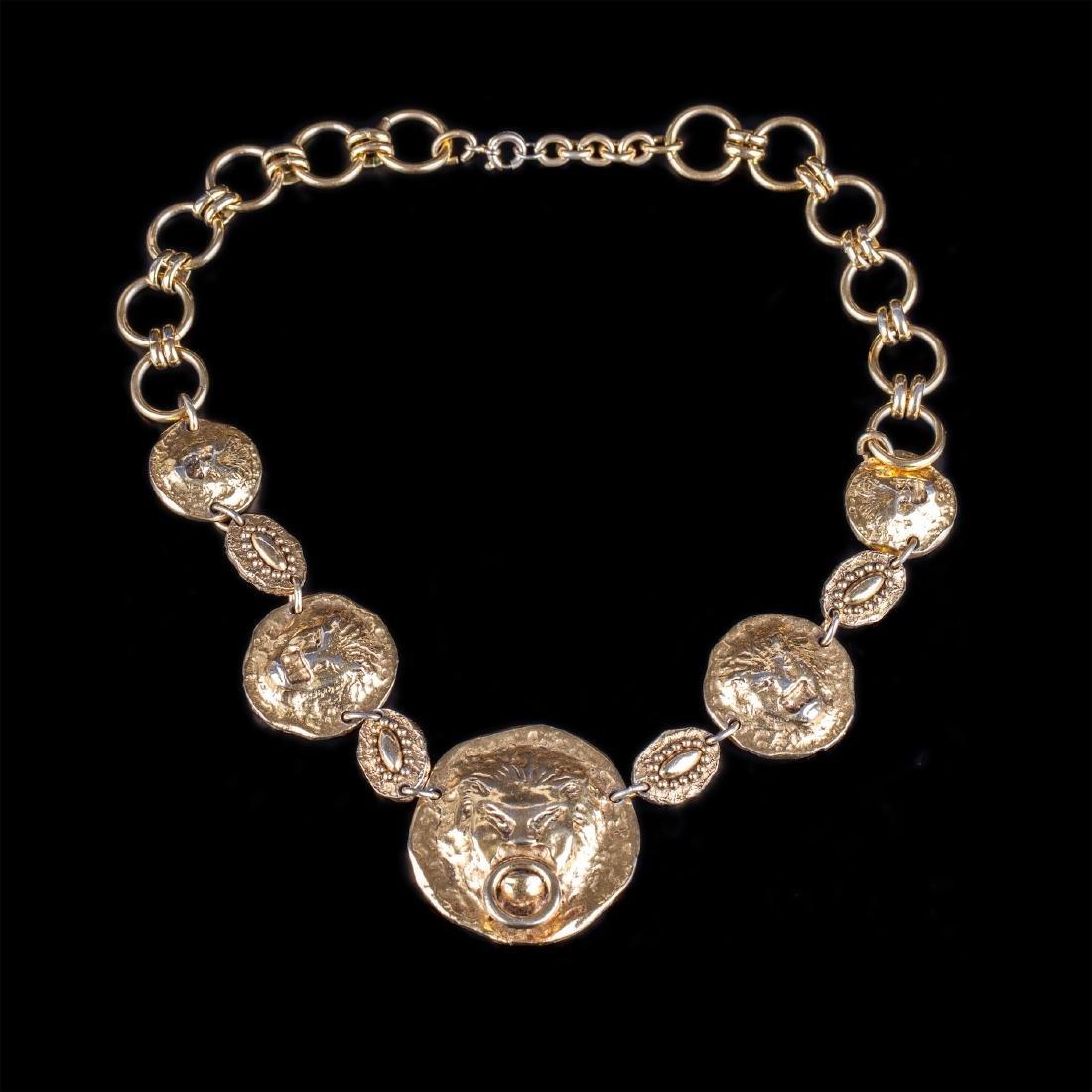 "Rare Chanel necklace ""Depose"". 1960s."