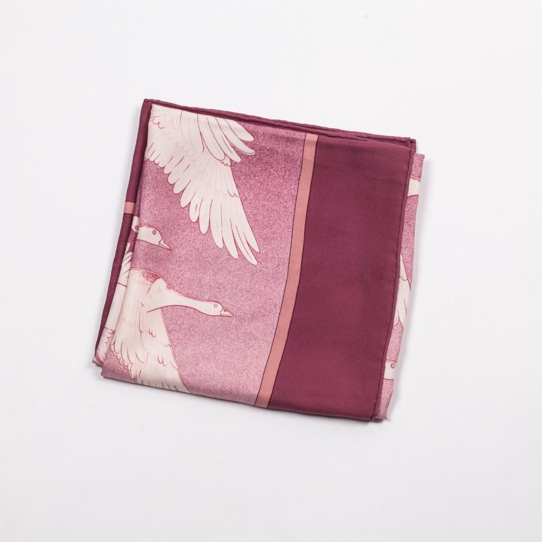 "Hermes ""Oiseaux migrateurs"" silk scarf.1977 - 2"