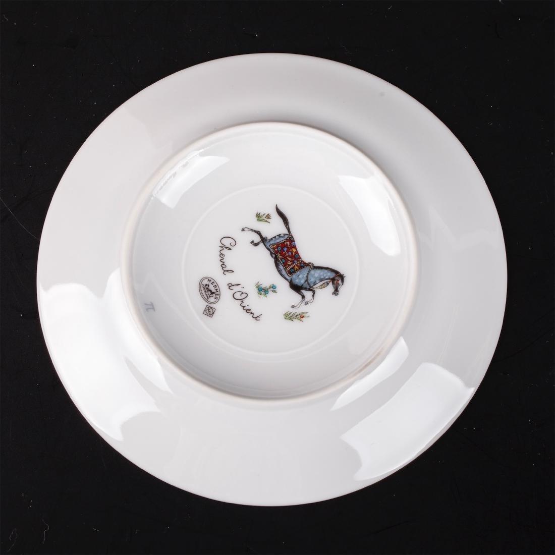 """Hermès """"Cheval d'Orient"""" porcelain tete-a-tete coffee - 3"""