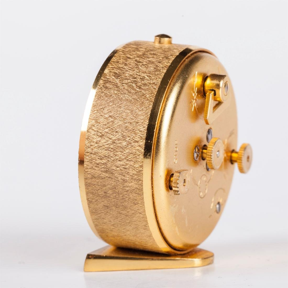 "Travel mechanical clock with alarm ""Jaeger Le Coultre"" - 5"