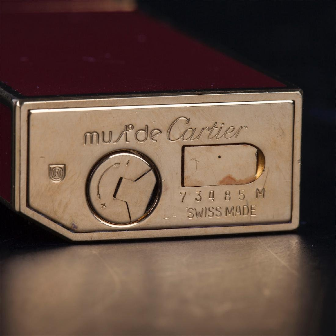 "Vintage lighter ""Must De Cartier"" in original box - 10"