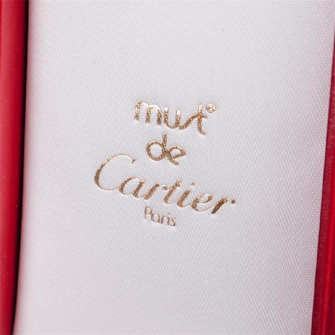 "Vintage lighter ""Must De Cartier"" in original box - 2"
