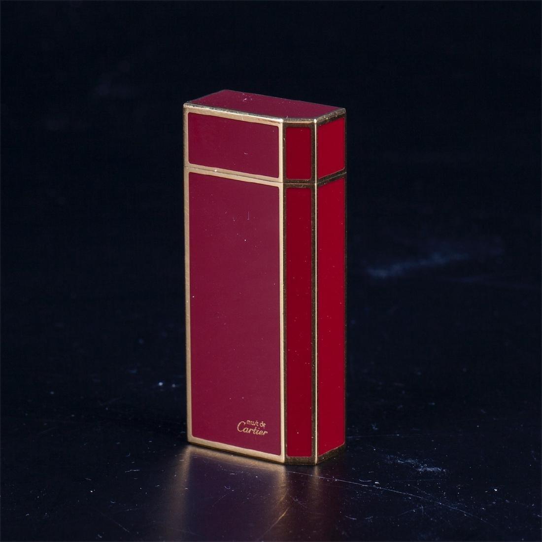 "Vintage lighter ""Must De Cartier"" in original box - 4"