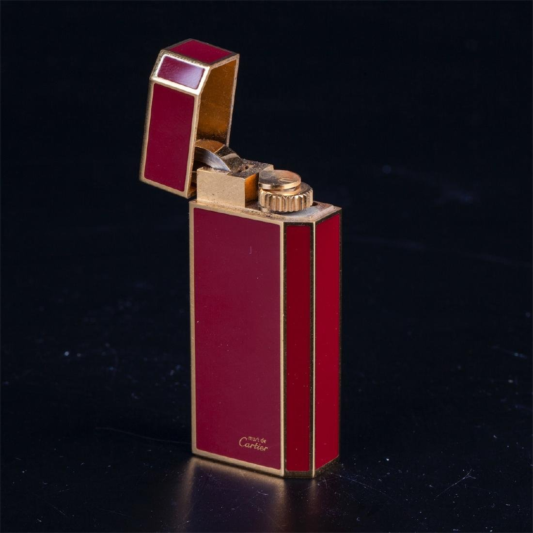 "Vintage lighter ""Must De Cartier"" in original box - 6"