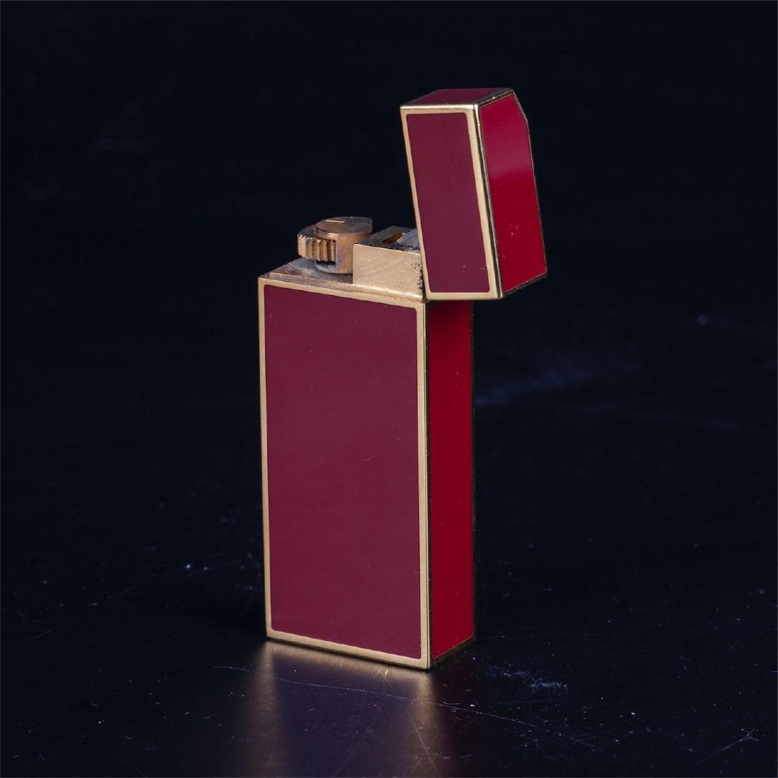 "Vintage lighter ""Must De Cartier"" in original box - 7"