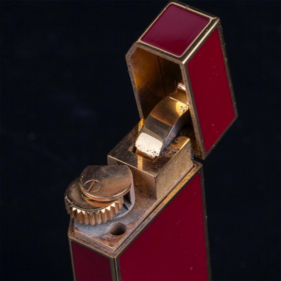 "Vintage lighter ""Must De Cartier"" in original box - 8"