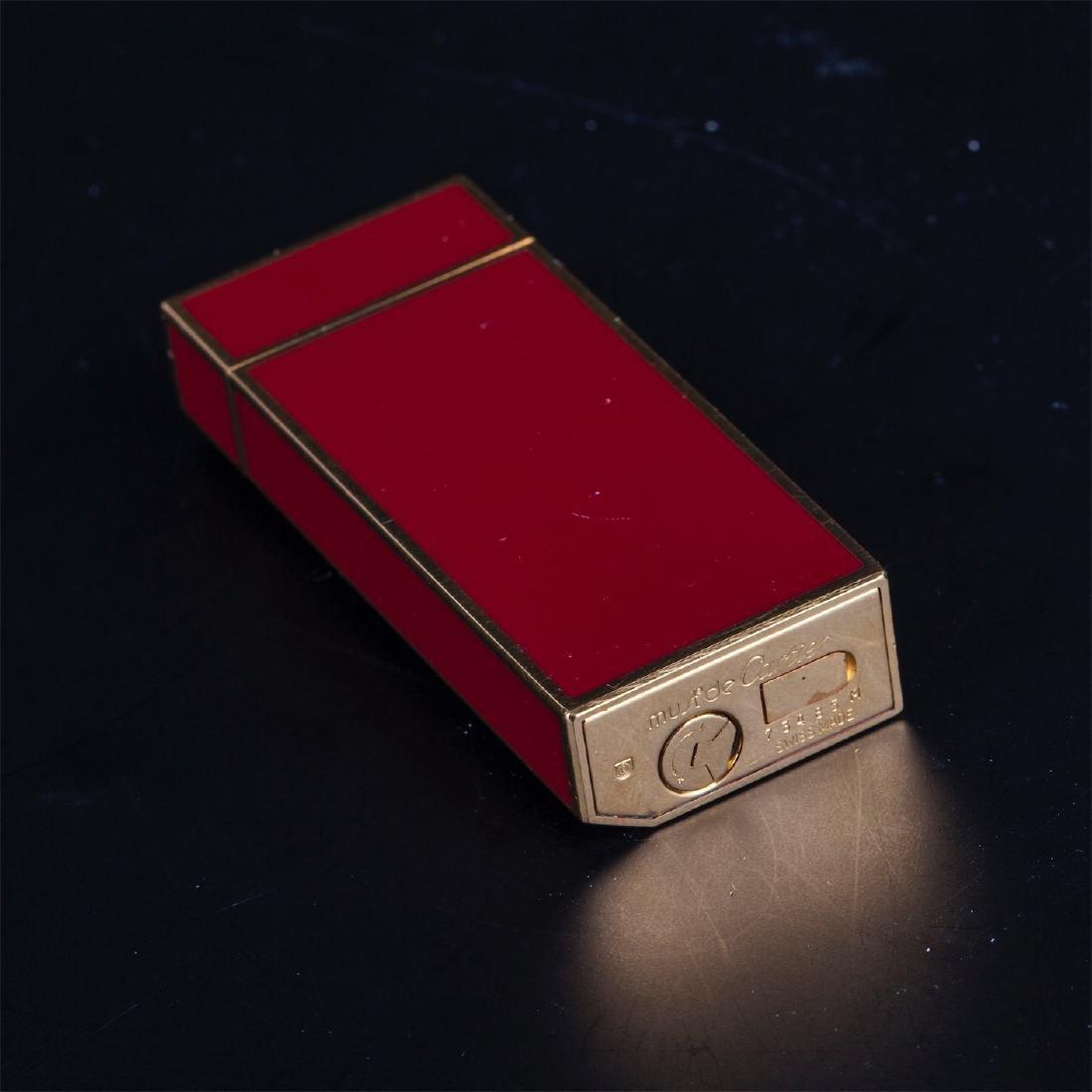 "Vintage lighter ""Must De Cartier"" in original box - 9"