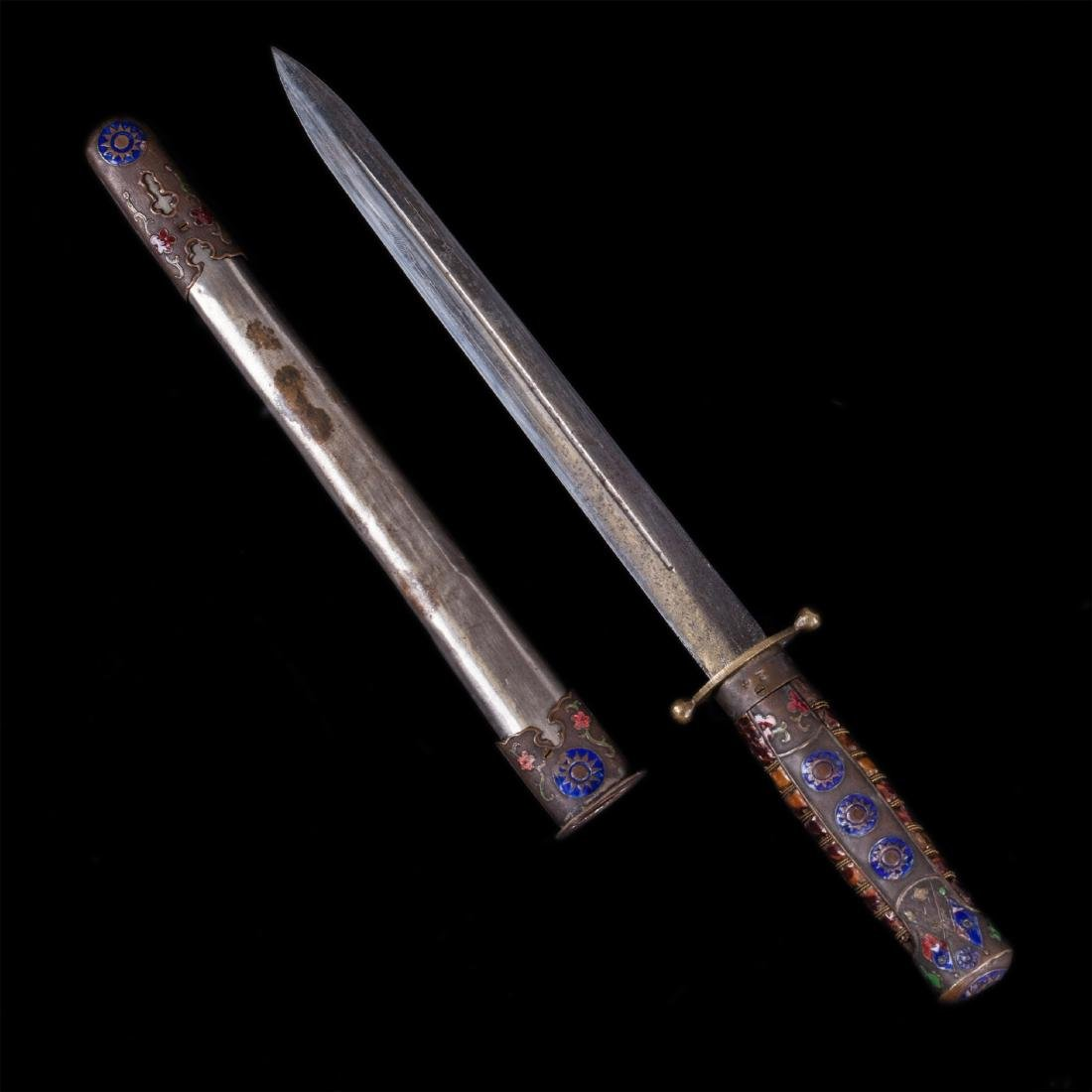 Chinese Republic Kuomintang army officer's dagger - 2