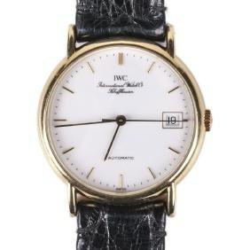 """IWC"" men's wristwatch with calendar"