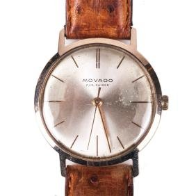 """Movado"" 18K gold wristwatch"