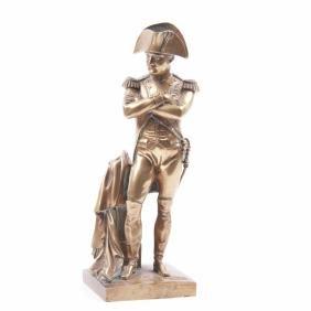 Bronze sculpture of Napoleon Bonaparte
