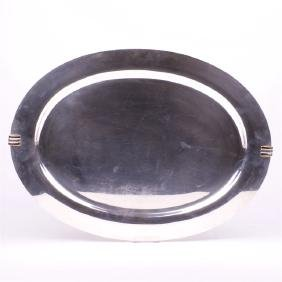 Cartier Antique sterling silver tray