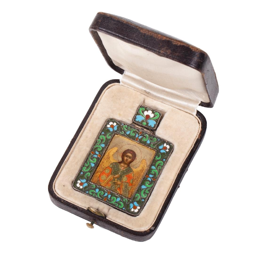 Russian icon of Guardian Angel