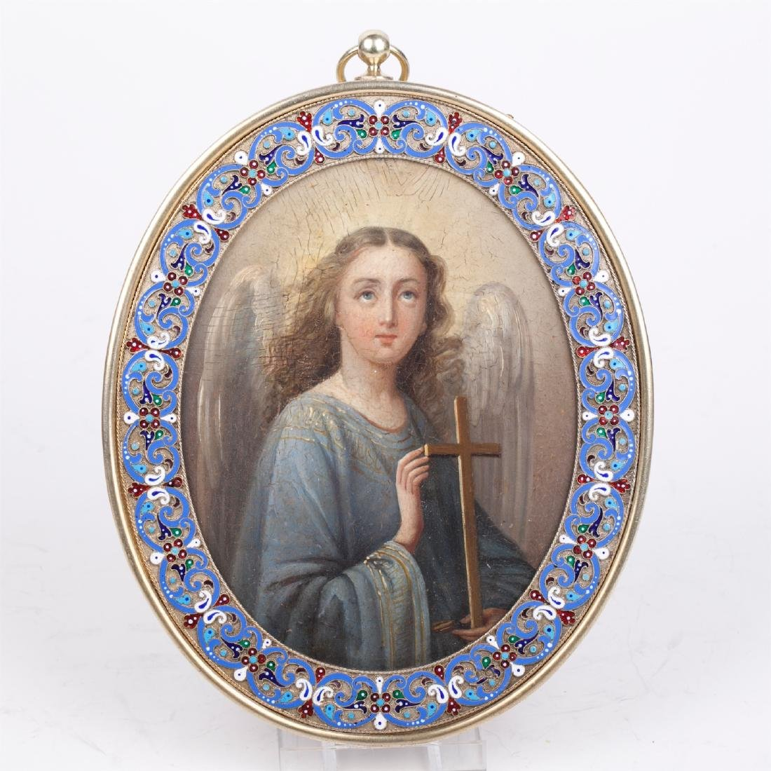 Russian icon of Guardian Angel - 2