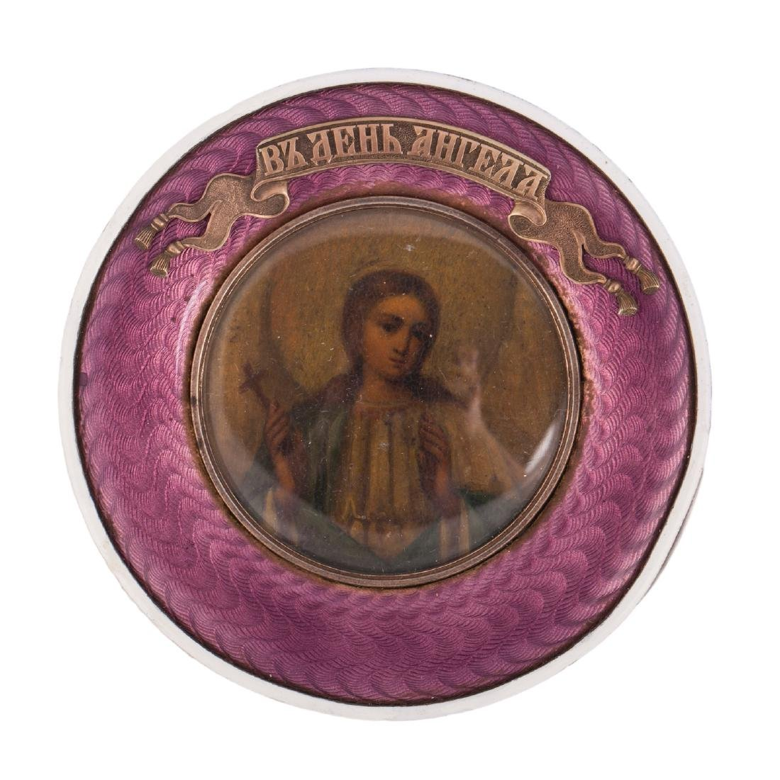 Rare Russian icon of Guardian Angel