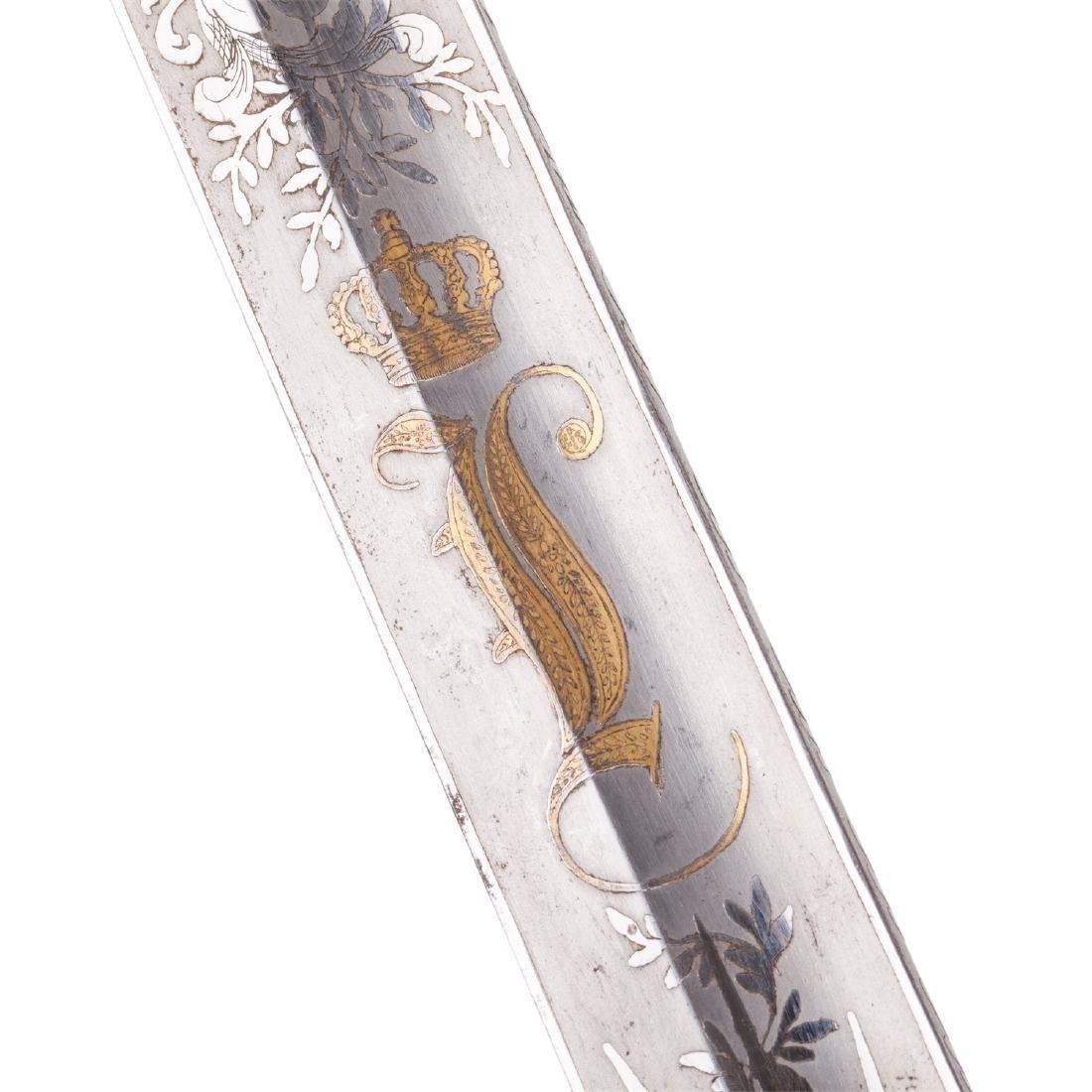 Hunting dagger with Grand Duke of Baden monogram - 10