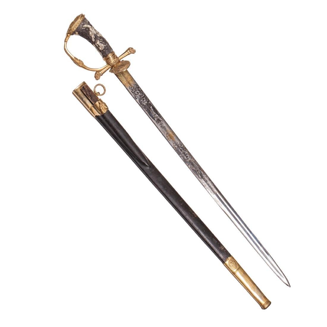 Hunting dagger with Grand Duke of Baden monogram - 3