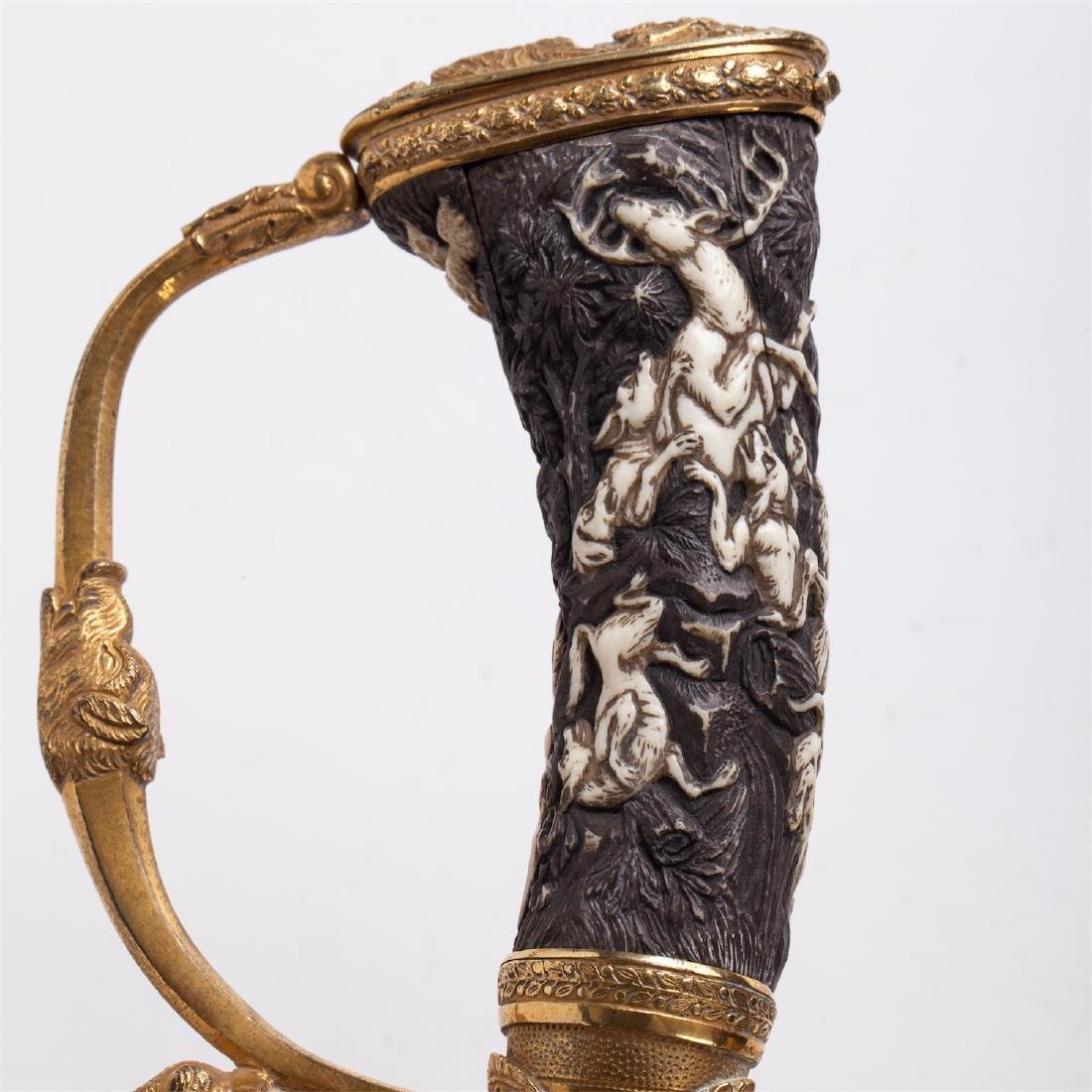 Hunting dagger with Grand Duke of Baden monogram - 5