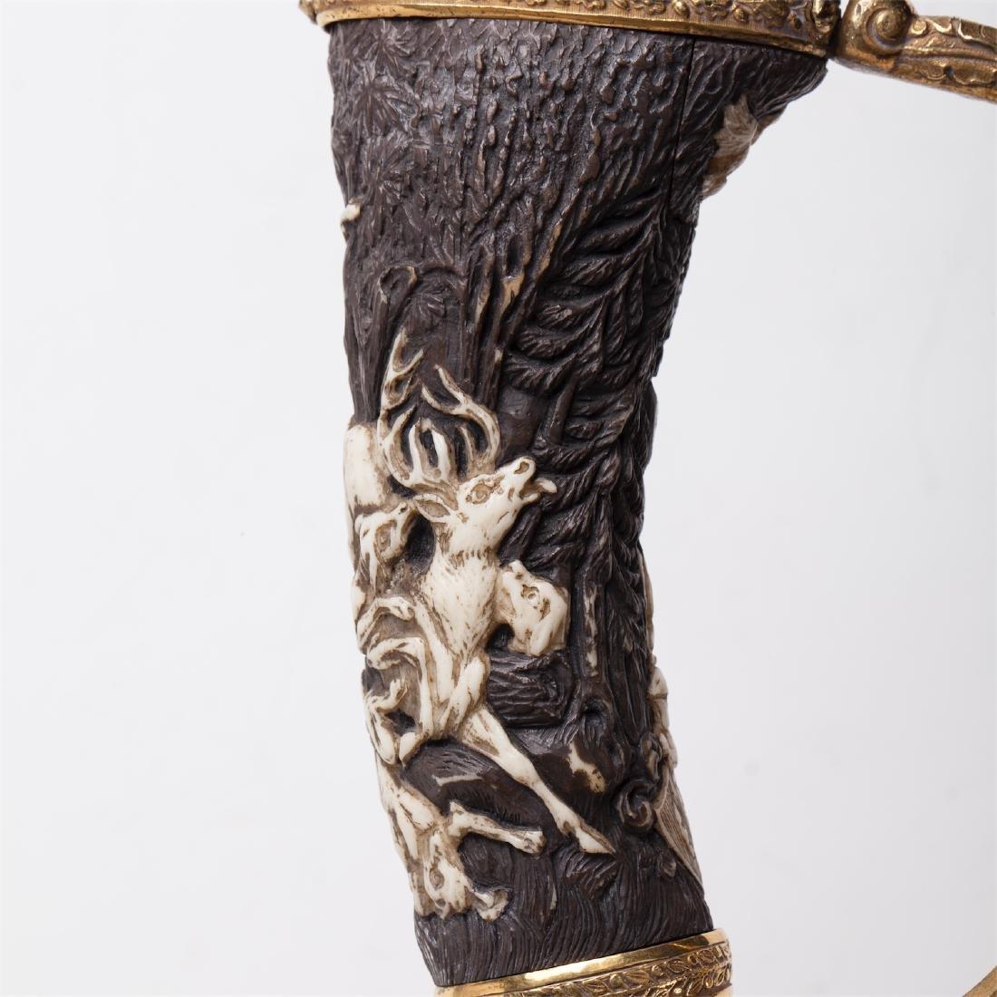 Hunting dagger with Grand Duke of Baden monogram - 6