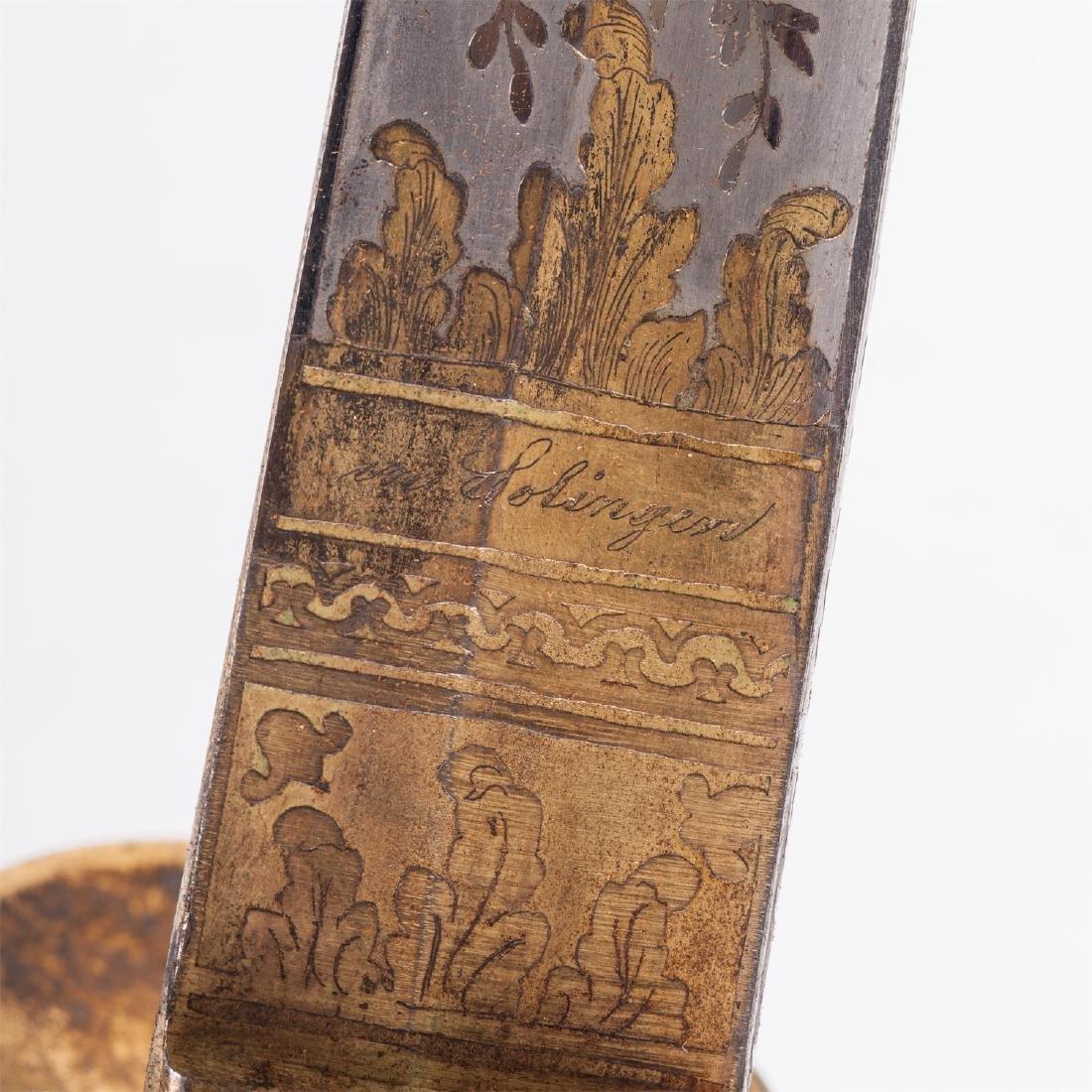 Hunting dagger with Grand Duke of Baden monogram - 7