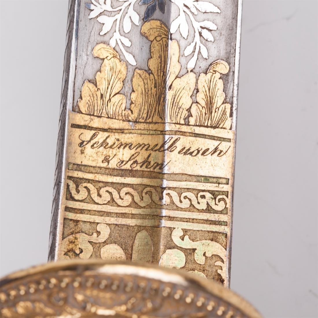 Hunting dagger with Grand Duke of Baden monogram - 8