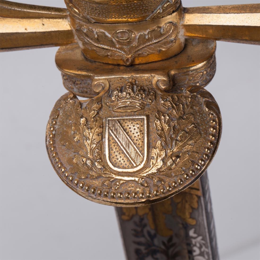Hunting dagger with Grand Duke of Baden monogram - 9