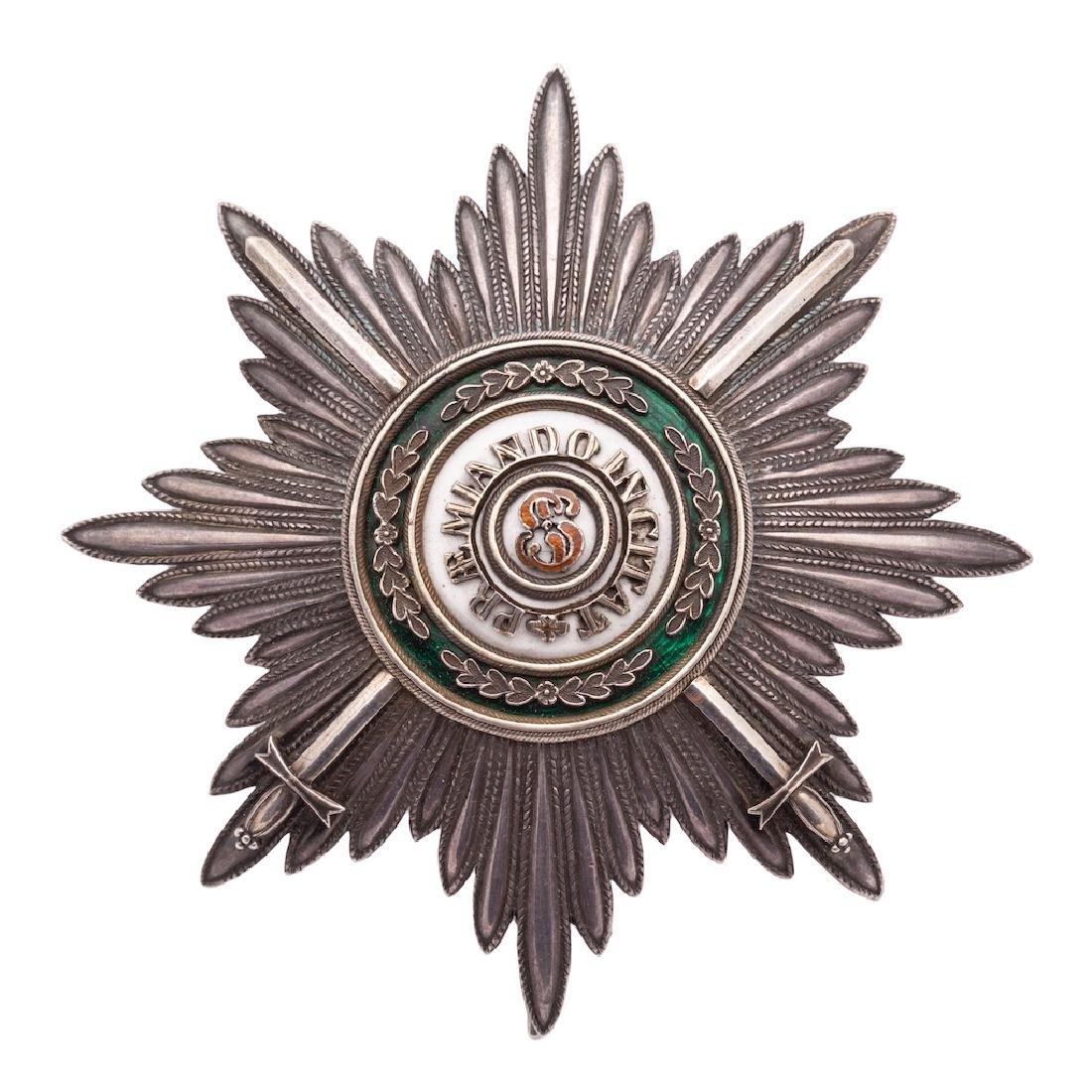Breast star, Order of Saint Stanislaus I class