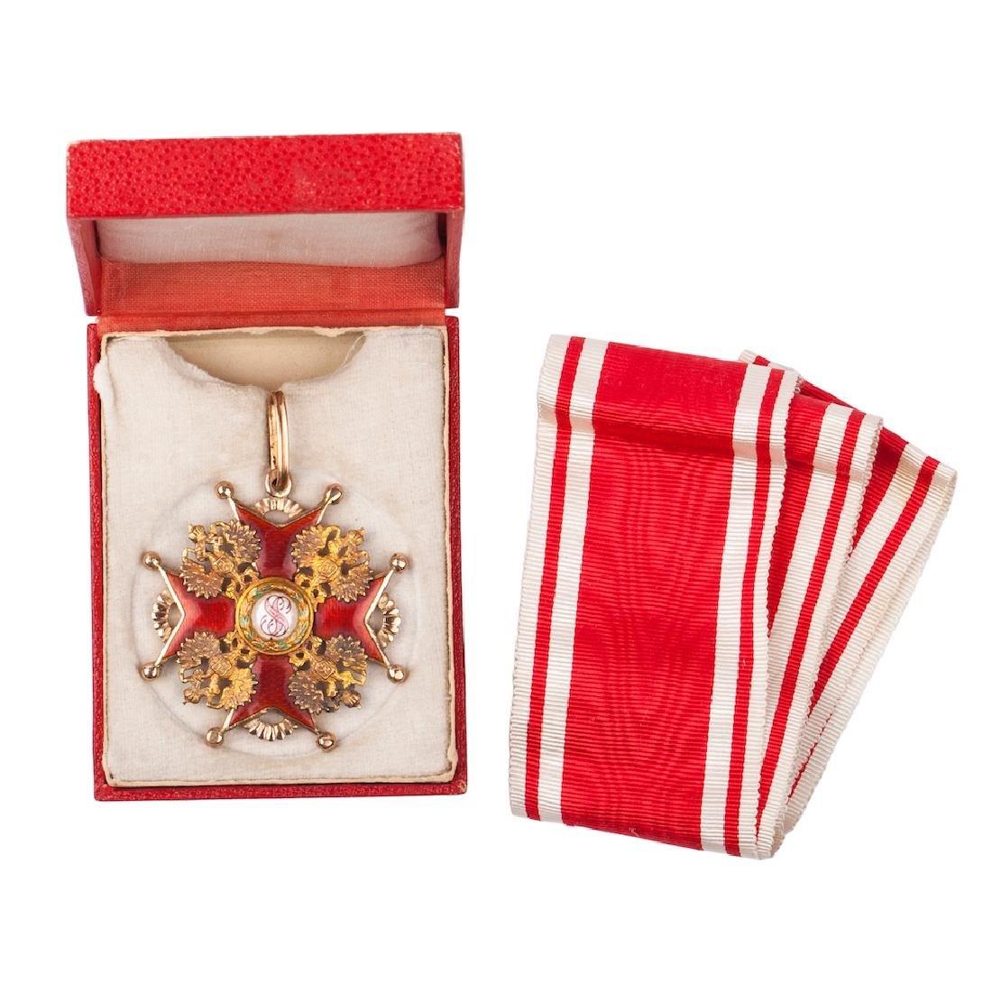 Order of Saint Stanislaus II class with swords
