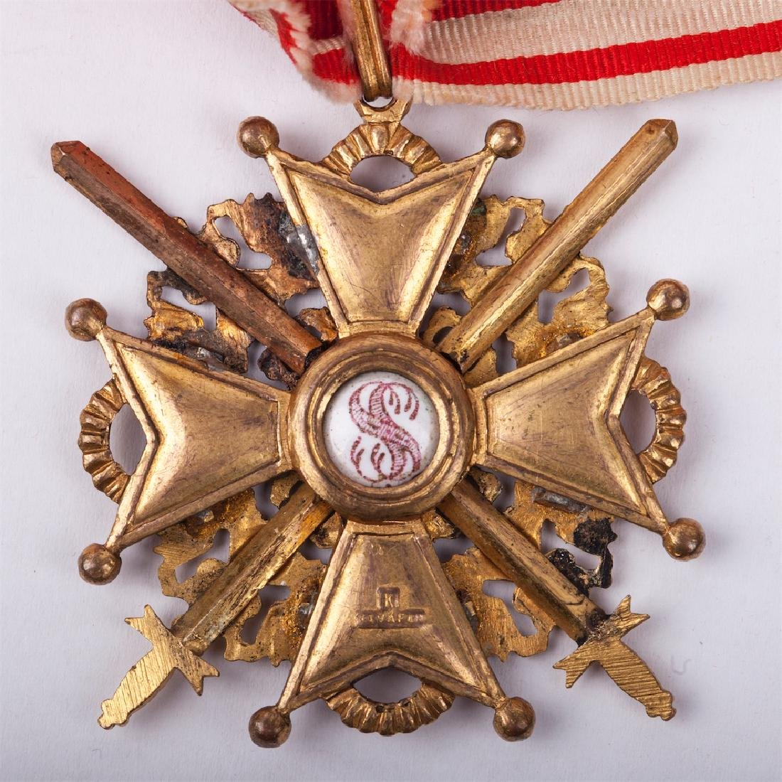 Order of Saint Stanislaus II class with swords - 3
