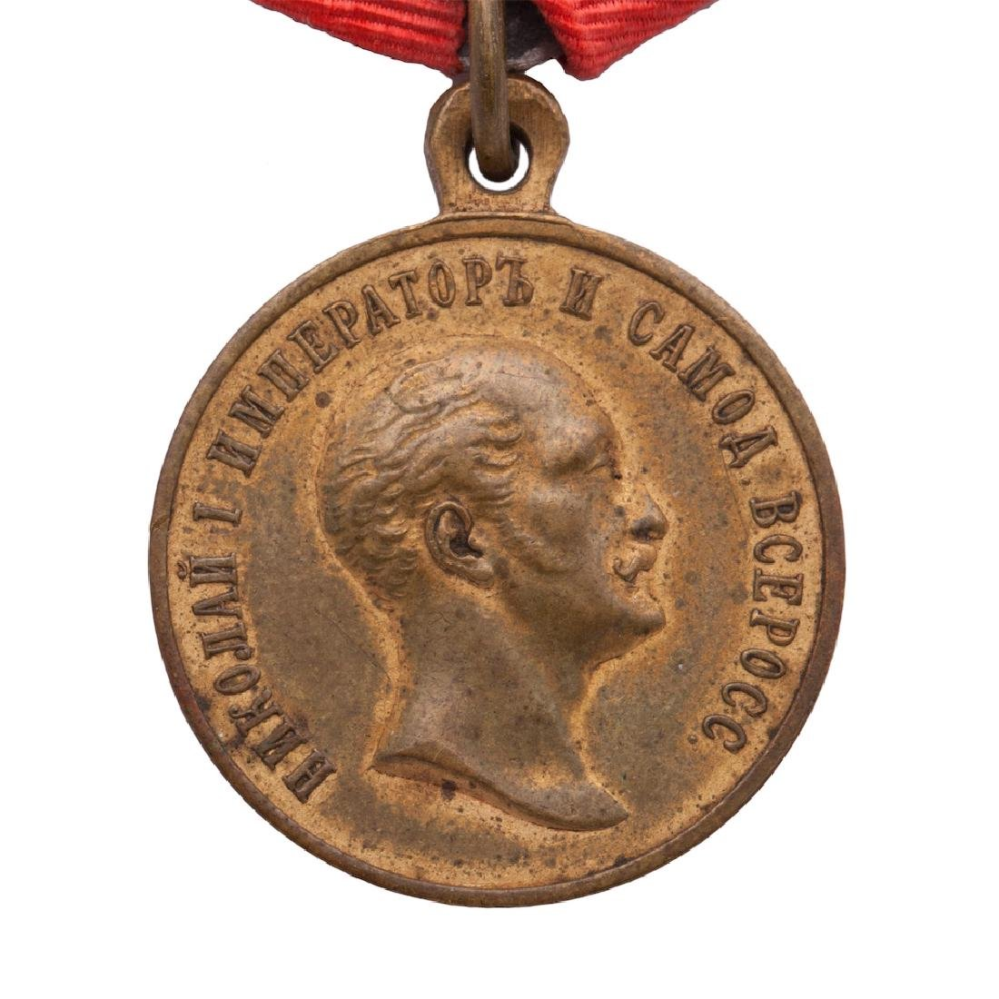 Medal In memory of Nicholas I reign - 3