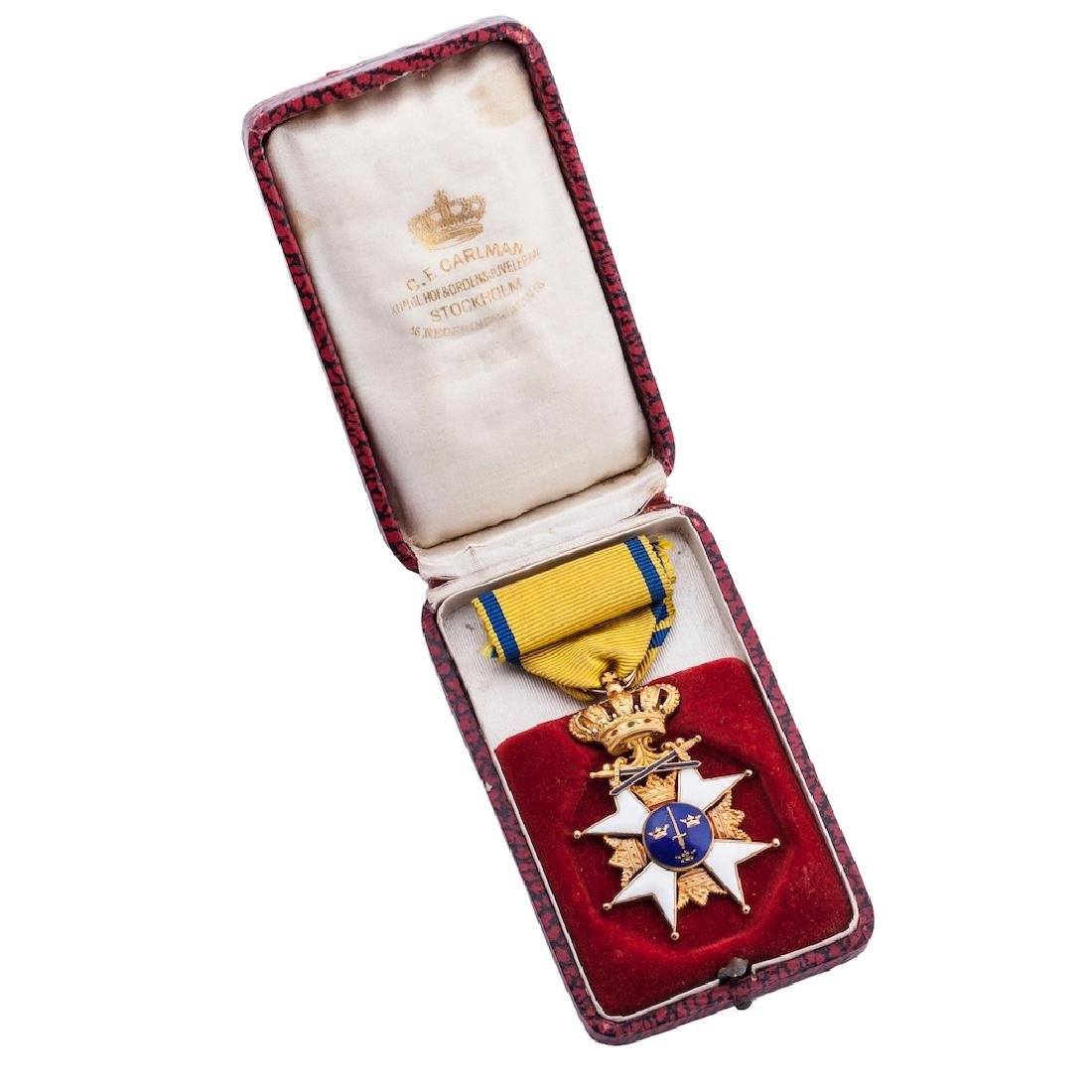 Order of the Sword, 1st Class Knight